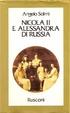 Cover of Nicola II e Alessandra di Russia
