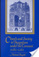 Cover of Church and Society in Byzantium Under the Comneni, 1081-1261