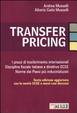 Cover of Transfer pricing. I prezzi di trasferimento internazionali. Disciplina fiscale italiana e direttive OCSE. Norme dei paesi più industrializzati