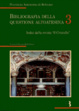 Cover of Bibliografia della questione altoatesina / Indici della rivista «Il Cristallo»