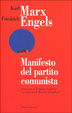 Cover of Manifesto del Partito Comunista