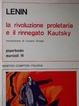 Cover of La rivoluzione proletaria e il rinnegato Kautsky