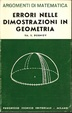 Cover of Errori nelle dimostrazioni in geometria