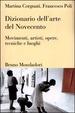 Cover of Dizionario Dell'arte del Novecento