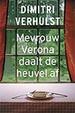 Cover of Mevrouw Verona daalt de heuvel af