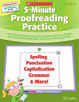 Cover of Interactive Whiteboard Activities: 5-Minute Proofreading Practice