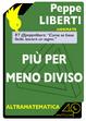 Cover of Più per meno diviso