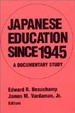 Cover of Japanese Education Since 1945