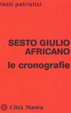 Cover of Le cronografie