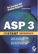 Cover of ASP 3 Instant Reference