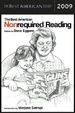 Cover of The Best American Nonrequired Reading 2009
