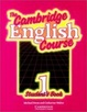 Cover of The Cambridge English Course 1 Student's book
