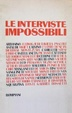 Cover of Le interviste impossibili