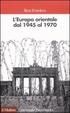 Cover of L'Europa orientale dal 1945 al 1970