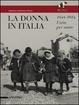 Cover of La donna in Italia 1848-1914