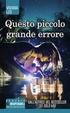 Cover of Questo piccolo grande errore