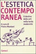 Cover of L'estetica contemporanea