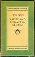Cover of Aspettiamo Primavera, Bandini