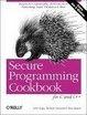 Cover of Secure Programming Cookbook for C and C++