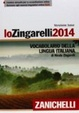 Cover of Lo Zingarelli 2014