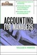 Cover of Accounting for Managers