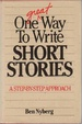 Cover of One Great Way to Write Short Stories