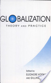 Globalization:theory and practice