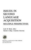 Issues in second language acquisition:multiple perspectives