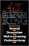 4x Stephen King (Richard Bachman)