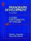 Paragraph development:a guide for students of English
