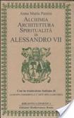 Cover of Alchimia, architettura, spiritualità in Alessandro VII