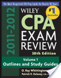 Wiley CPA exam review 2011-2012 /