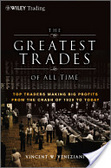 The greatest trades of all time : : top traders making big profits from the Crash of 1929 to today