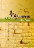 戰後臺灣人權年表:1945-1960