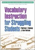 Vocabulary instruction for struggling students /