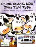 Click, Clack, Moo Cows that Type (Paperback + Tape 1)