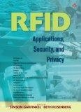 RFID:applications- security- and privacy