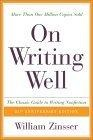 On writing well:the classic guide to writing nonfiction
