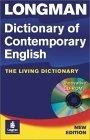 Longman dictionary of contemporary English:the living dictionary