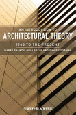 An introduction to architectural theory : : 1968 to the present