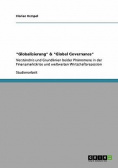 """Globalisierung"" & ""Global Governance"""