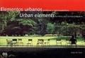 Elementos urbanos:mobiliario y microarquitectura