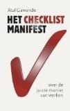 Het checklist-manifest / druk 1