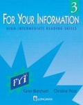 For your information 3:high-intermediate reading skills