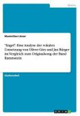 """""""Engel"""". Die vokale Umsetzung von Oliver Gies und Jan Bürger im Vergleich zum Originalsong der Band Rammstein"""