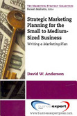 Strategic marketing planning for the small to medium-sized business : : writing a marketing plan