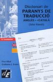 Diccionari de paranys de traducció anglès-català