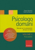 Cover of Psicologo domani. Vol. 2: Prova pratica.