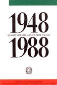 1948-1988 Quarant'anni della Costituzione Italiana