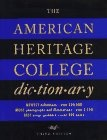 """American Heritage"" College Dictionary"